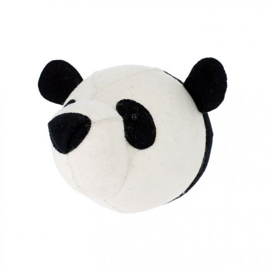 Fiona Walker Panda Head 1
