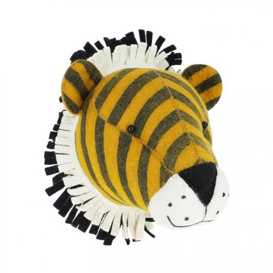 Fiona Walker Stripe TIger Head 1