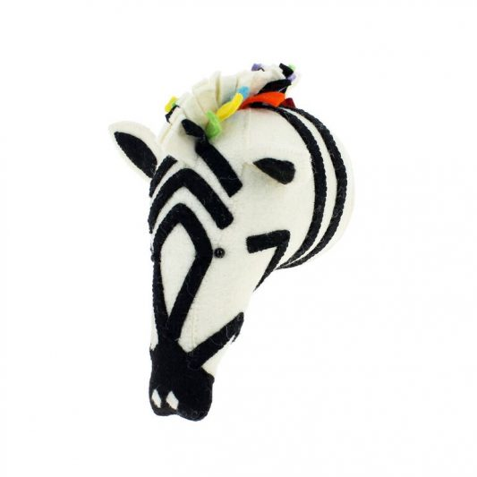 Rainbow Safari Zebra