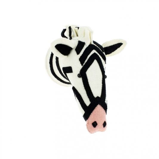 Semi Zebra With Pink Nose 1