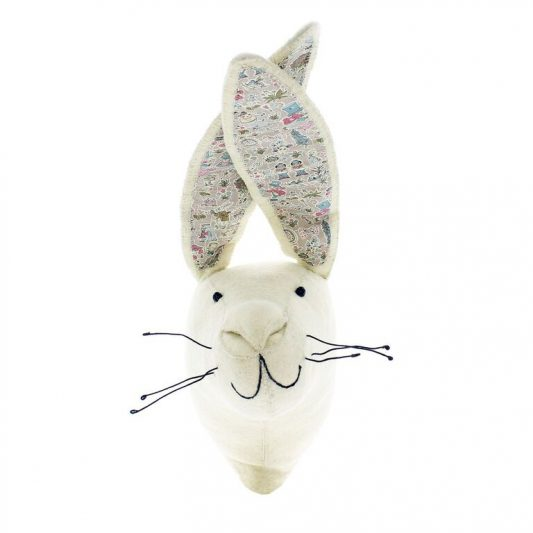 White Rabbit with Alice In Wonderland Print
