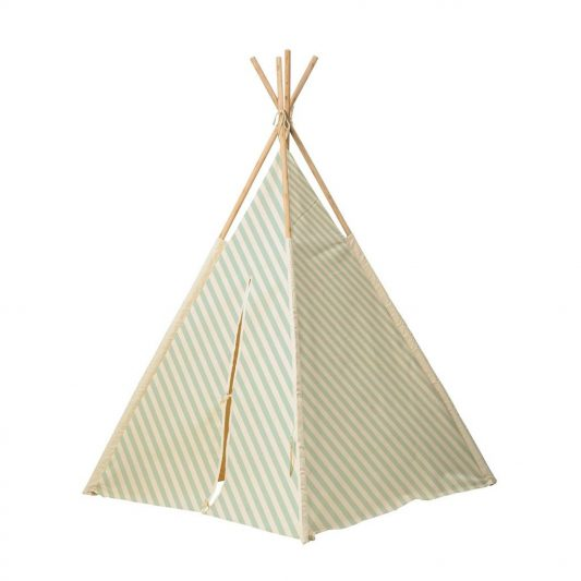 bloomingville-tipi-tent-mint-green-and-white-texti