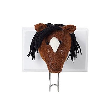 horse brown hook