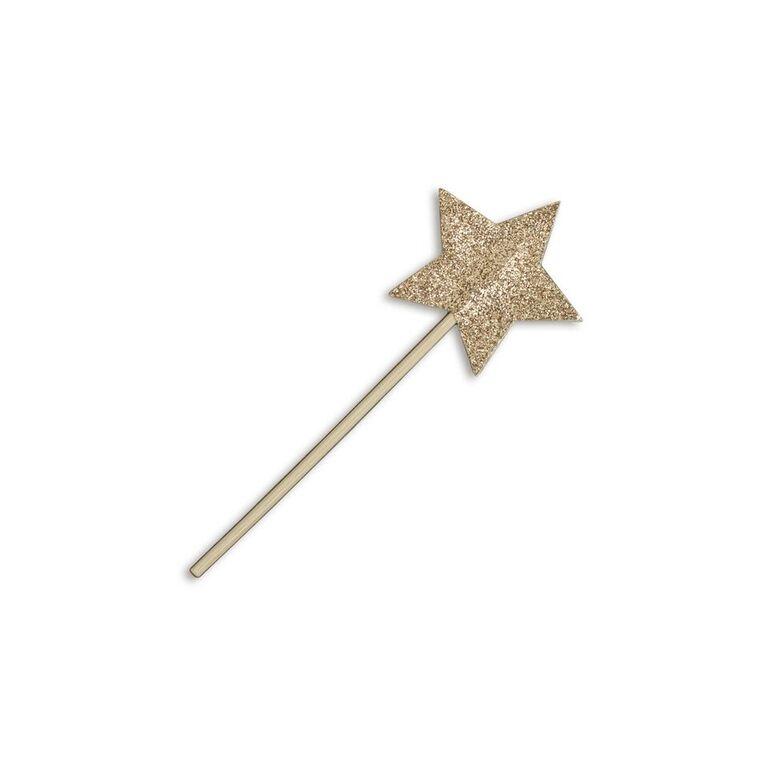 leo bella numero 74 mini magic wand glitter gold. Black Bedroom Furniture Sets. Home Design Ideas