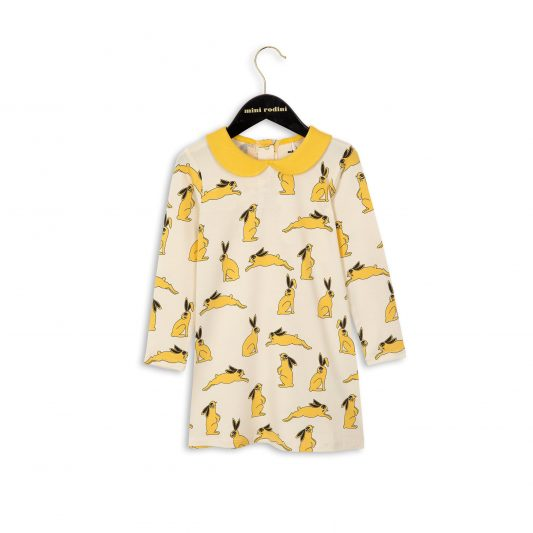 1674011123 1 mini rodini bunny collar dress yellow