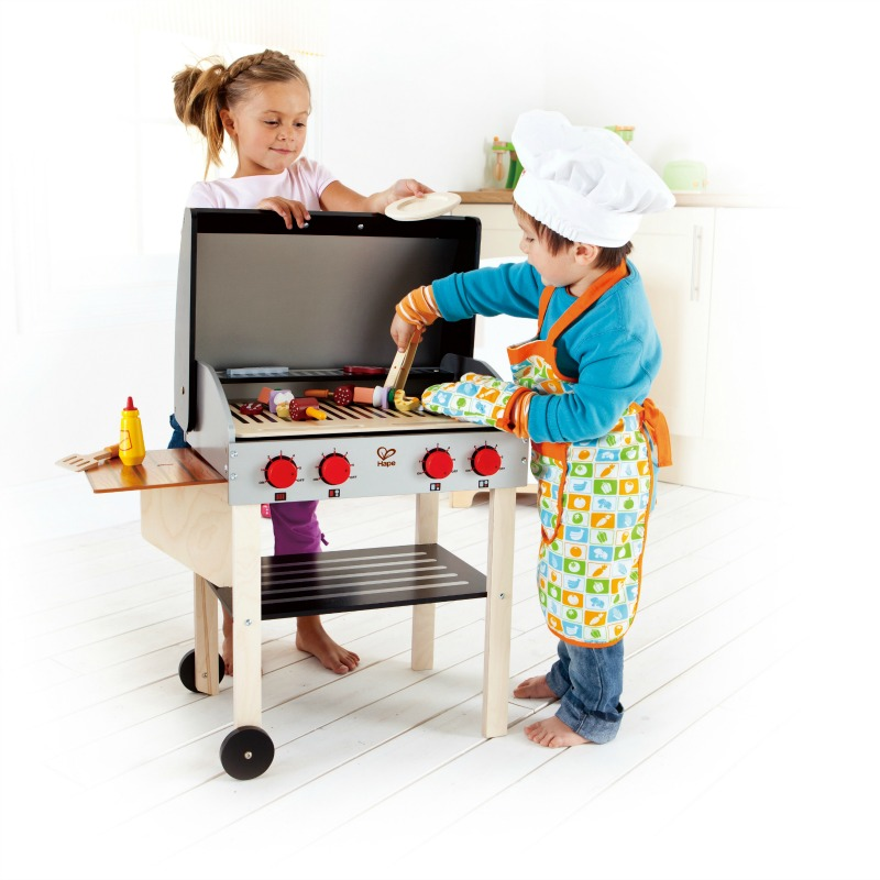 Leo Amp Bella Hape Gourmet Barbecue Grill With Food