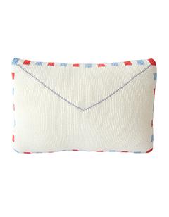 Knitting Pattern Envelope Cushion : Leo & Bella BlaBla Kids Cushion Pillow Knitted Airmail Envelope