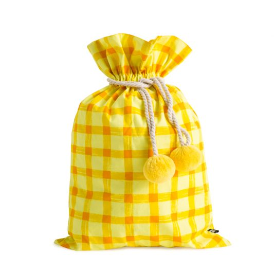 swag-sack-yellow-gingham