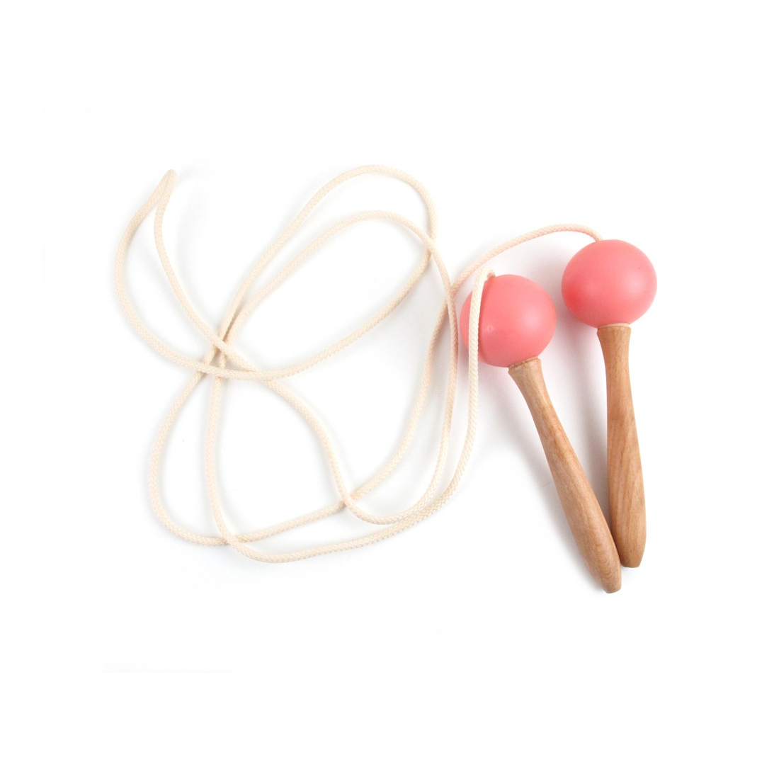 leo bella nobodinoz wooden jumping rope indian pink. Black Bedroom Furniture Sets. Home Design Ideas