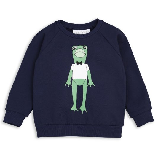 1712012167 mini rodini frog sp sweatshirt navy 1