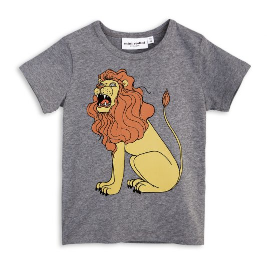 1712013094 mini rodini lion sp ss tee grey melange 1