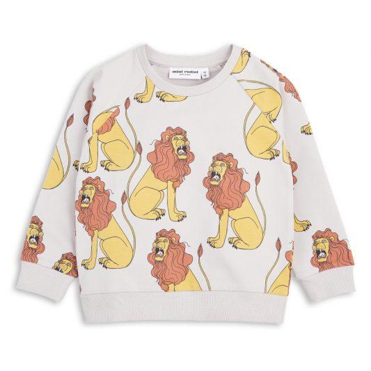 1712014796 mini rodini lion sweatshirt light grey 1