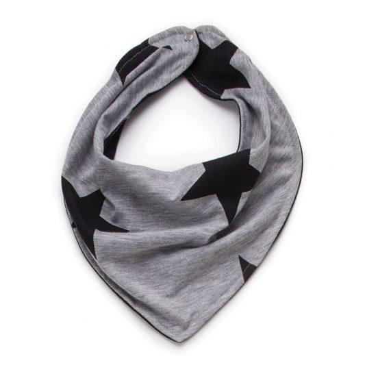 heather grey bib stars