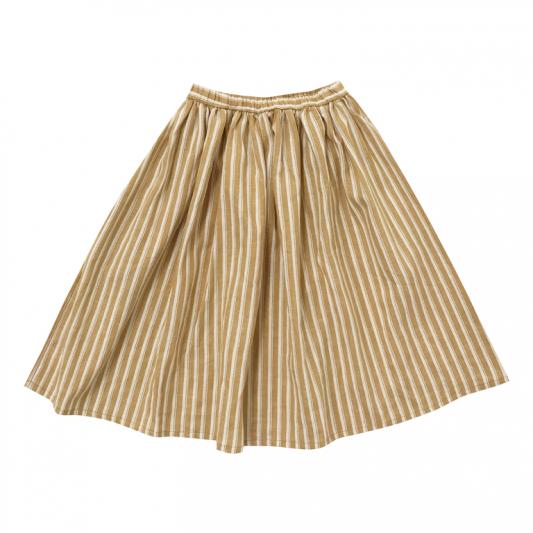 maxi skirt pinstripe