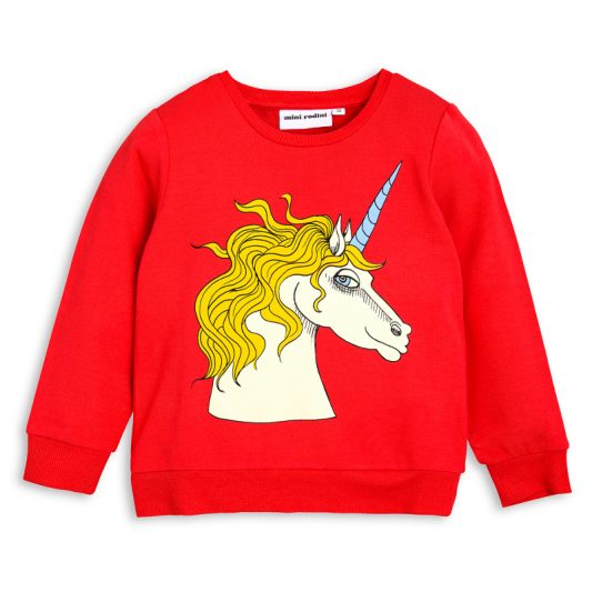 1712015742 1 mini rodini unicorn sp sweatshirt red
