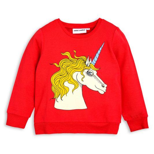 1712015742 1 mini rodini unicorn sp sweatshirt red