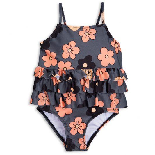 1718010297 1 mini rodini flower frill swimsuit grey