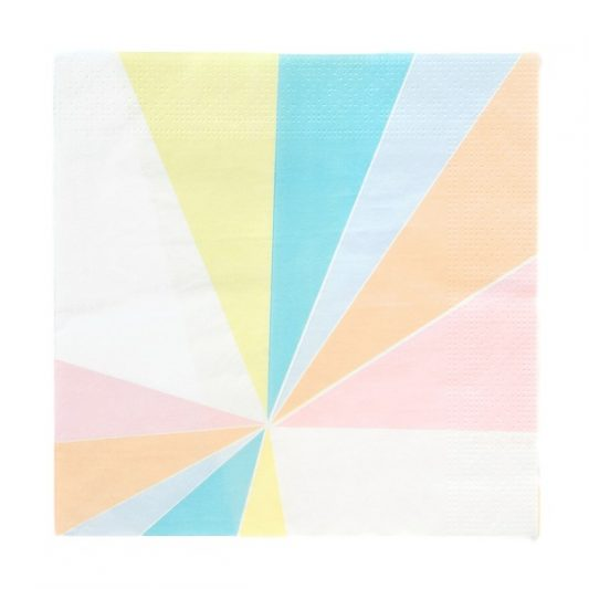 My Little Day Pastel Party Napkins 20Pk_clipped_rev_1
