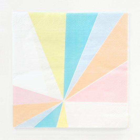 napkins pastel