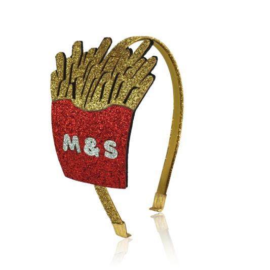 fries headband