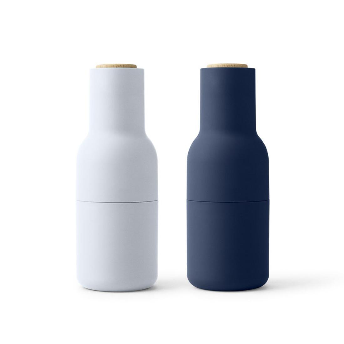 leo bella menu bottle grinder set of 2 classic blues. Black Bedroom Furniture Sets. Home Design Ideas