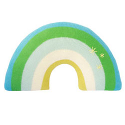 Pillow-Rainbow-Green-Front-Itm