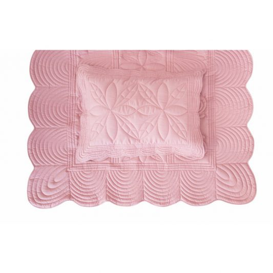 Single-bed-pillow-quilt-set-girl-rose-pink-bonne-mere