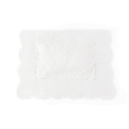 Single-bed-pillow-quilting-set-girl-white-bonne-mere
