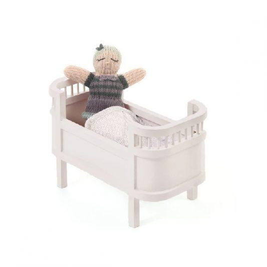 Smallstuff-Rosaline-Wooden-Miniature-Doll-Bed-Cot-Rose-Poppenbed-Hout-Roze-Miniatuur-Elenfhant-600-x-600-PX