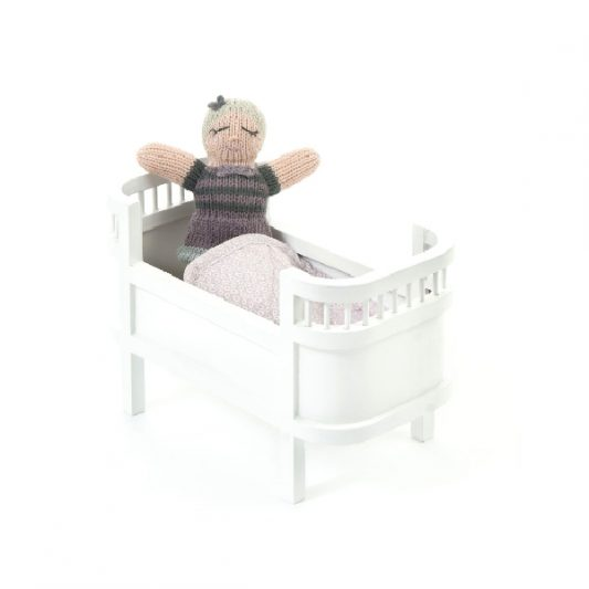 Smallstuff-Rosaline-Wooden-Miniature-Doll-Bed-Cot-White-Poppenbed-Hout-Wit-Miniatuur-Elenfhant-600-x-600-PX-2