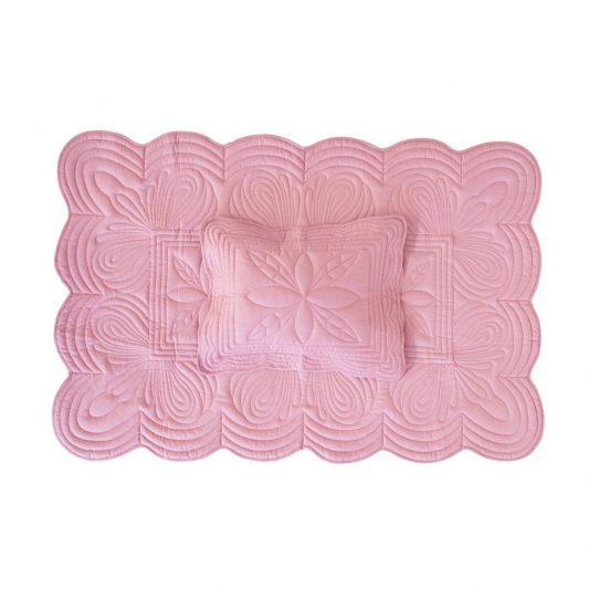 cot-quilt-set-rose-pink-playmat-girl-bonne-mere