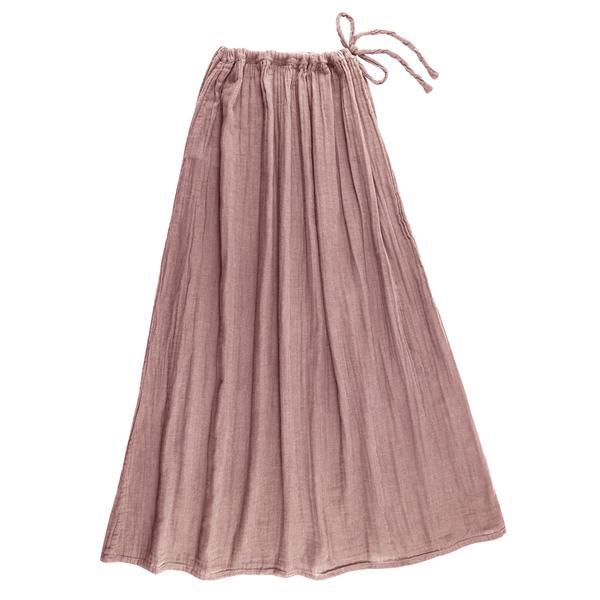 leo numero 74 maxi skirt dusty pink