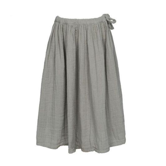 numero-74-skirt-for-girls-ava-long-silver-grey