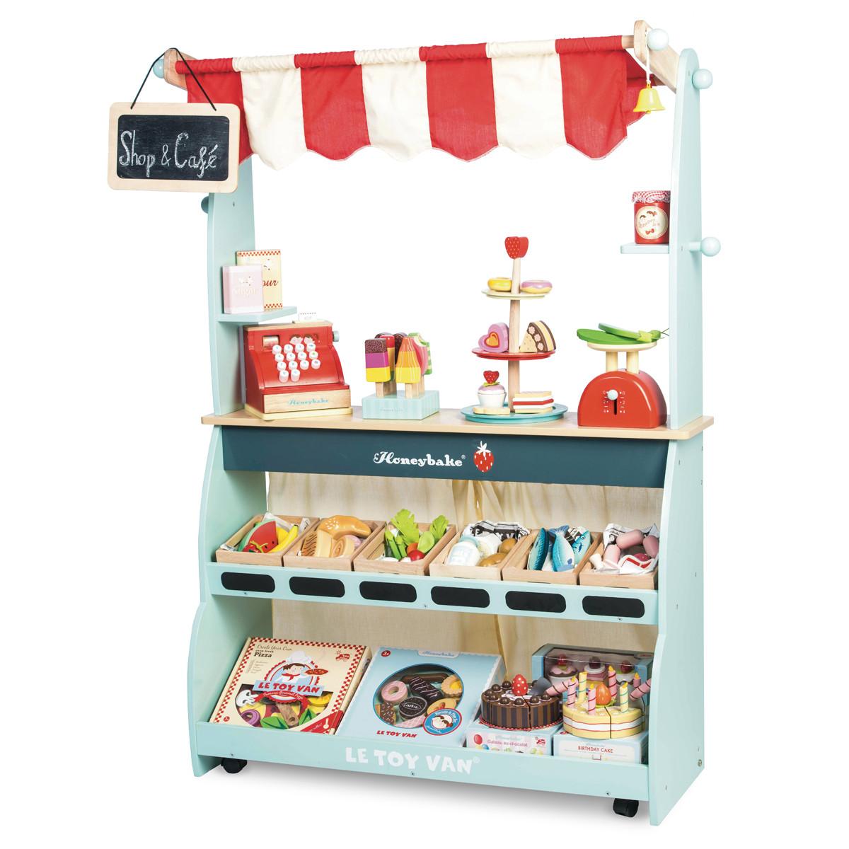 Leo Amp Bella Le Toy Van Shop Amp Cafe Honeybake
