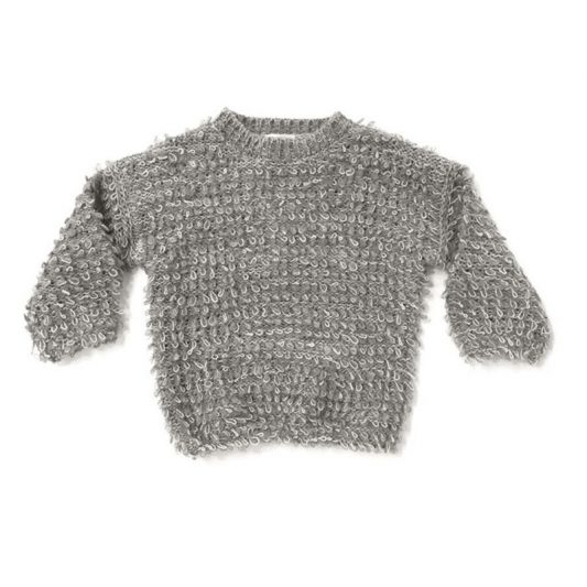 knit sweater_looped