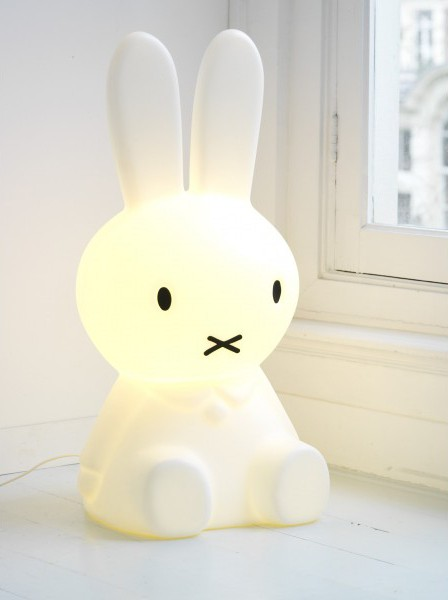 Mr Maria Miffy Remote Controlled Led Lamp Xl Leo Amp Bella