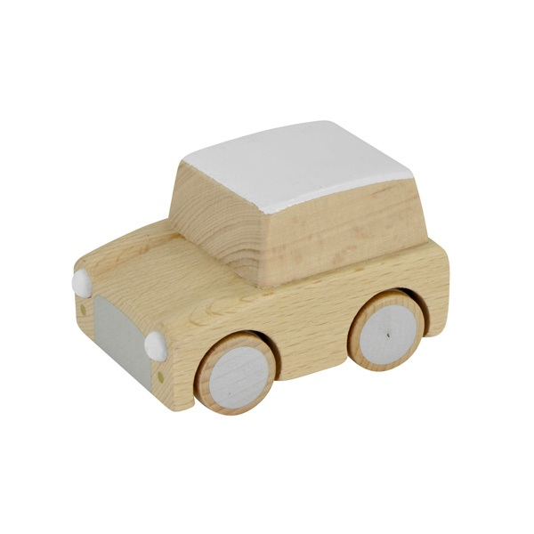 Leo Amp Bella Kiko Kuruma Wooden Toy Car Natural Beech