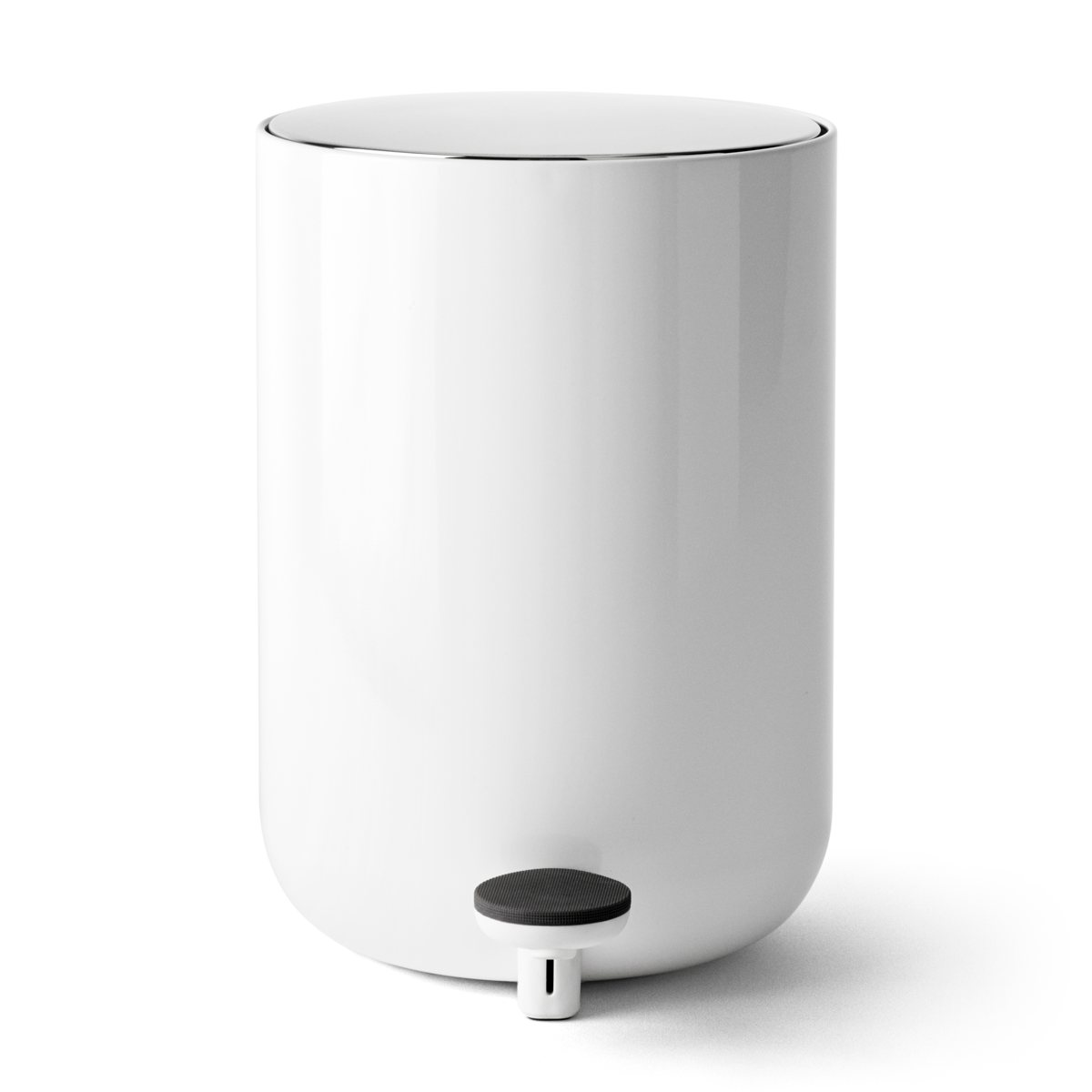 white bathroom bin leo amp menu bath pedal bin white 15048