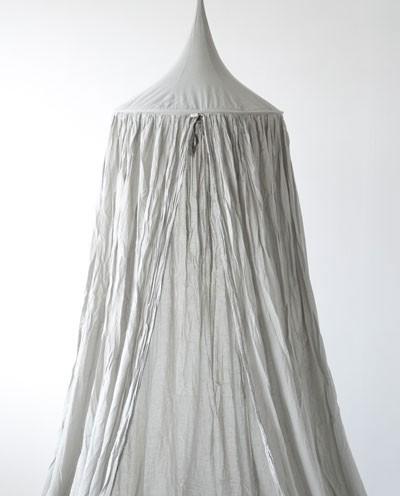 Numero 74 Cotton Canopy Single Silver Grey & Leo u0026 Bella | Numero 74 Cotton Canopy Single Silver Grey