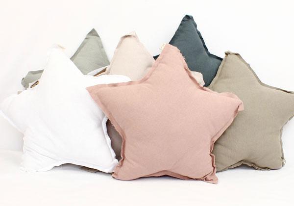 Numero 74 Star Cushion Powder Pink Small 30cm Leo Amp Bella