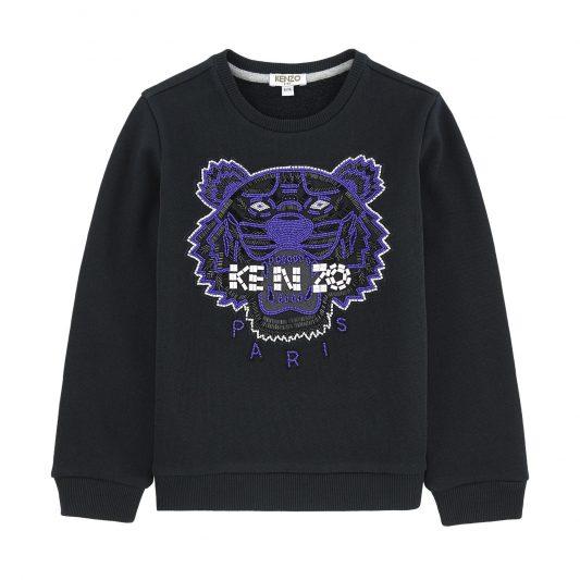 a8088b94e9 Select options · Boy, Brands, Girl, Kenzo Kids, Kenzo Kids AW16, Tops, Wear  Kenzo AW16 Sweatshirt Beaded Tiger ...