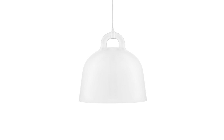 leo bella normann copenhagen bell lamp white medium. Black Bedroom Furniture Sets. Home Design Ideas