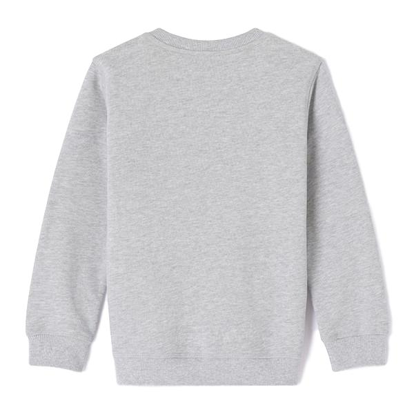 Kenzo Kids Aw17 Tiger Sweatshirt Marle Grey And Gold Leo Amp Bella