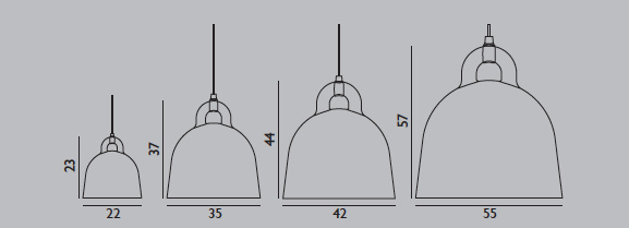 Normann Copenhagen Bell L& ...  sc 1 st  Leo u0026 Bella & Leo u0026 Bella   Normann Copenhagen Bell Lamp Grey Small