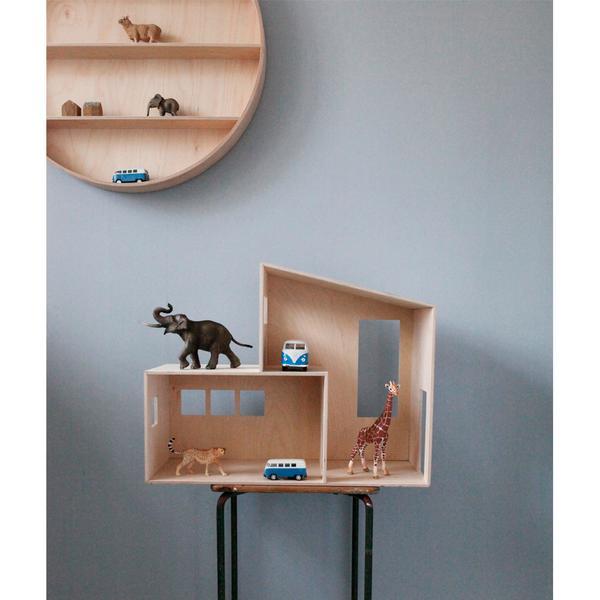 Leo bella ferm living miniature funkis house small for Funkis house
