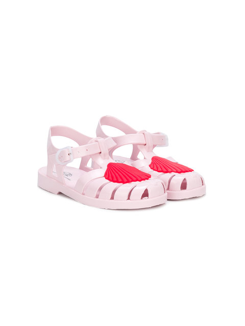 e78a1499c7f Little Marc Jacobs SS18 Shell Jelly Sandals Pink